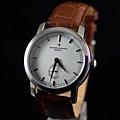 江詩丹頓 新款2針小秒 全自動機械背透男士腕錶
