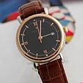江詩丹頓 休閑商務日曆全鋼簡便男式手錶