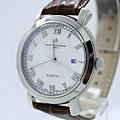 江詩丹頓真皮帶 鋼殼 藍寶石 進口機芯 男士手錶12
