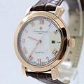 江詩丹頓真皮帶 鋼殼 藍寶石 進口機芯 男士手錶