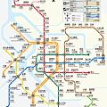 台北捷運路線圖ver.16A (pantone改)