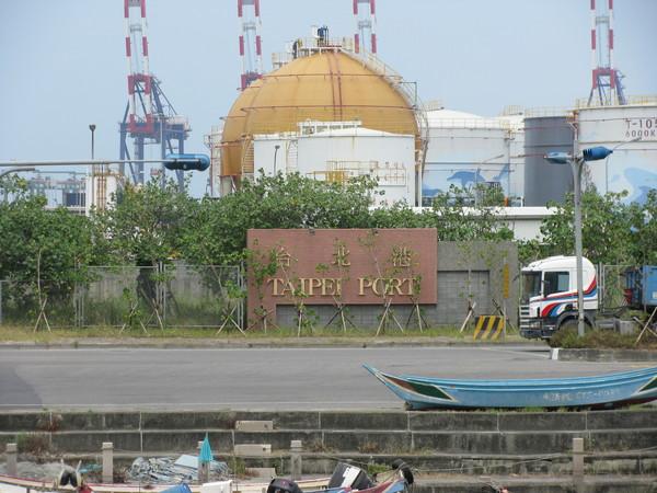 台北商港圍牆