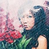 「無刺的紅玫瑰」 在沒有刺的紅色玫瑰花世界裡 住著一顆沒有被關住的紅色心臟 嬌嫩 艷麗。