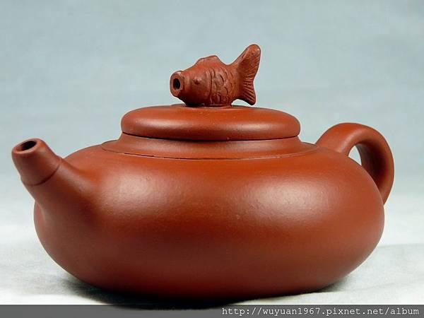 陳羽紅(友紅) 紅泥魚樂壺