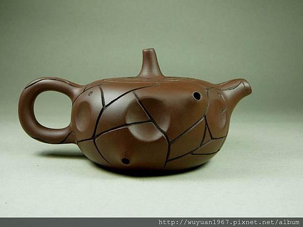 吳鳴 石陶壺 (5)