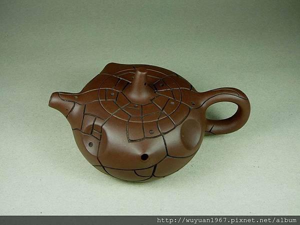 吳鳴 石陶壺