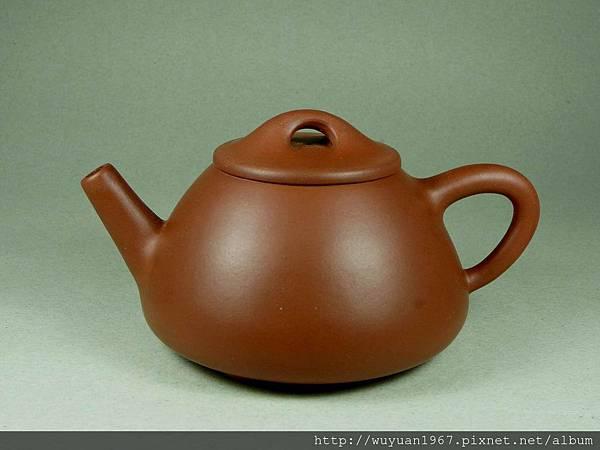 荊溪黃製 紫砂 石瓢壺