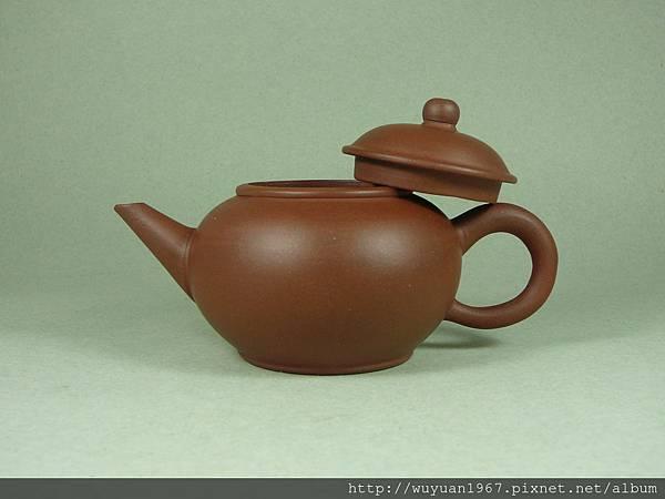 80初期 中國宜興款 八杯 清水紫砂 標準壺