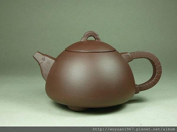 潘飛(菲) 紫砂 龍瓢壺