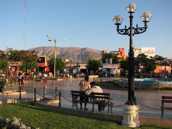 Nasca: Plaza de Armas