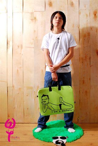 醜人個性塗鴨方形提袋(多款多色)