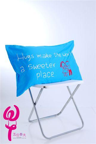 擁抱讓世界更甜蜜枕頭套