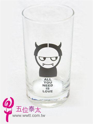歡喜冤家小惡魔玻璃杯