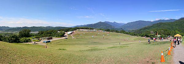鹿野高台寬景