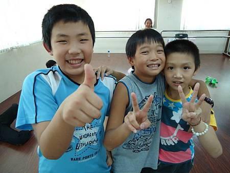 2011年小小劍士男生前三名