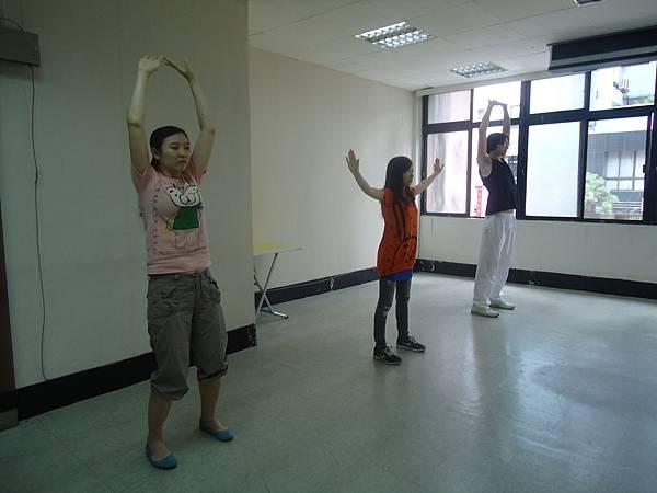 2012.5.12星期六太極訓練01