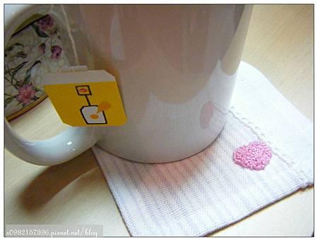 刺繡小物-杯墊