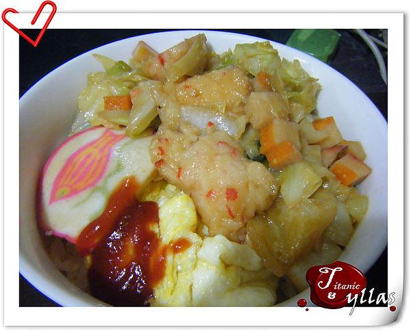 滑蛋日式海鮮丼飯-2