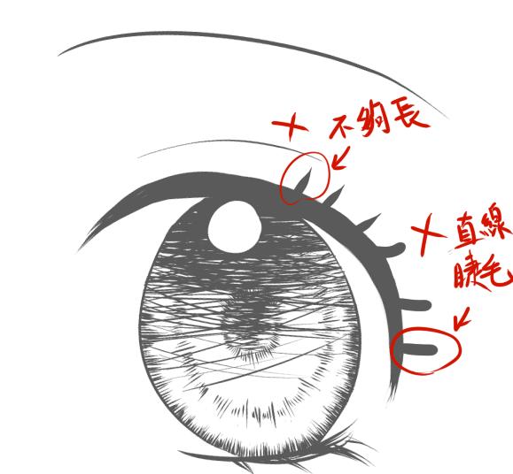 少女眼睛示範1