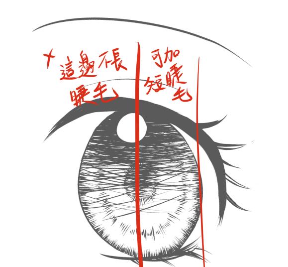 少女眼睛示範3