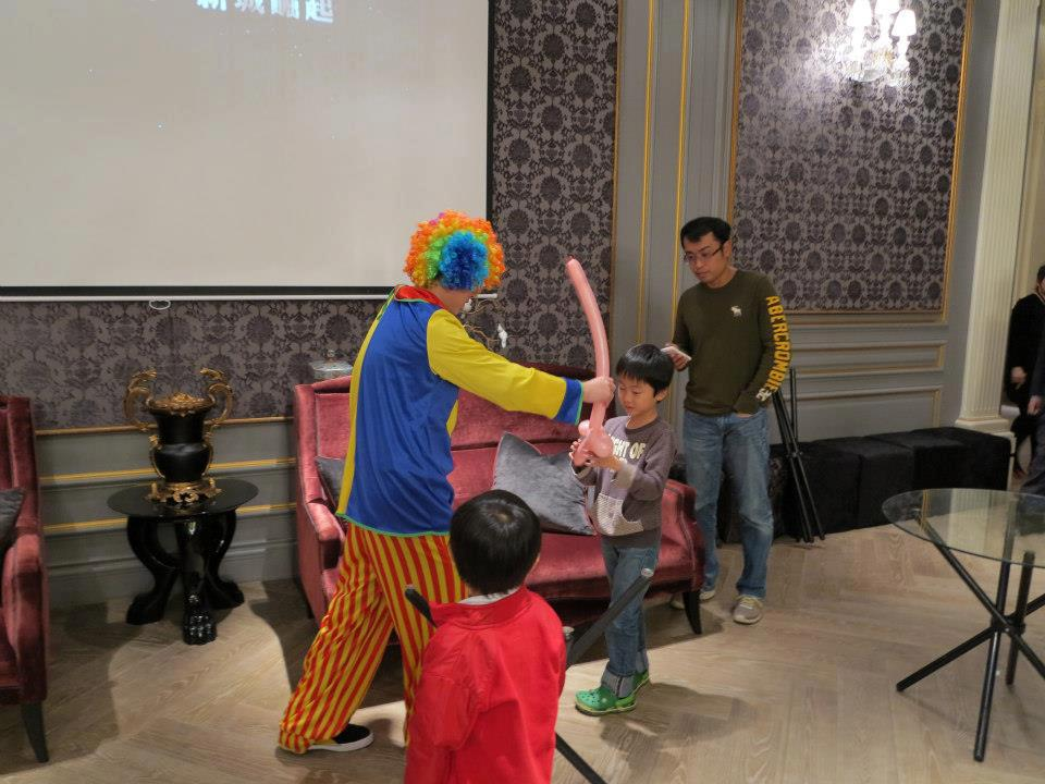 2012國家一號院小丑折氣球