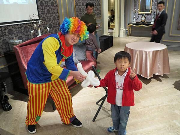 2012-12-29國家一號院小丑折氣球(三星寶劍)