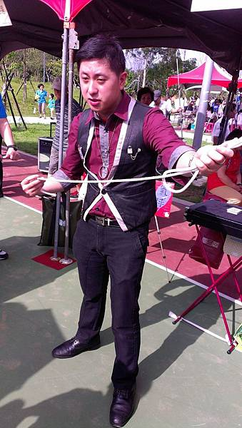 2013桃園第八屆街頭藝人考試- 考試表演照『繩乎奇技』2