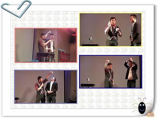 2014-01-18泰宇出版尾牙魔術表演+主持「魔幻消失水」