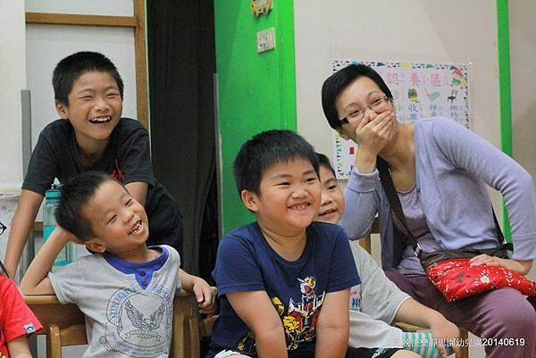 2014-0619快樂靜思園「靚靚妹妹」生日慶魔術表演+氣球6