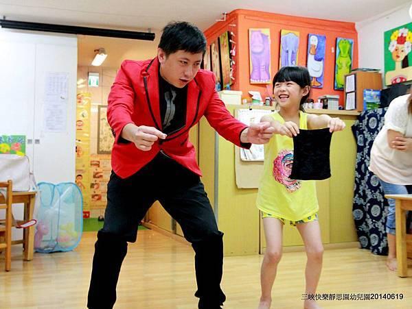 2014-0619快樂靜思園「靚靚妹妹」生日慶魔術表演+氣球10
