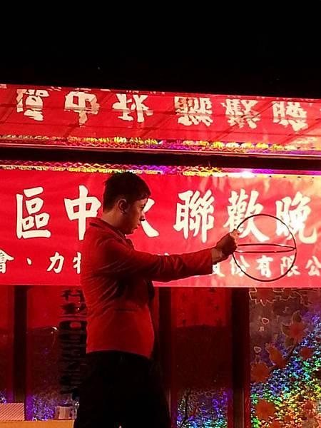 【表演實錄】2014年桃園真愛社區中秋節大會烤晚會-魔術+氣球表演6