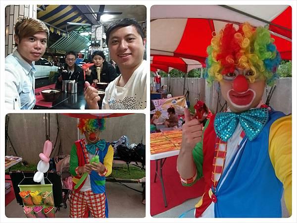 2014-10-04宏益玻璃家庭日-小丑氣球+活動工讀-合圖