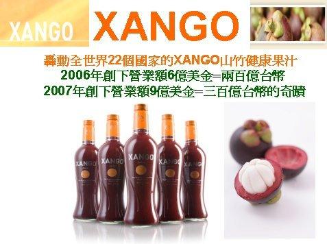 轟動全世界22個國家的XANGO山竹健康果汁