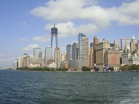 紐約下曼哈頓天際線