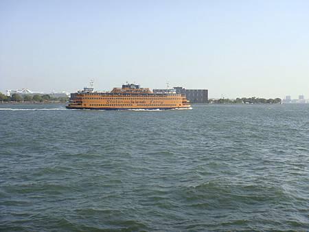 搭往Staten Island的免費渡輪