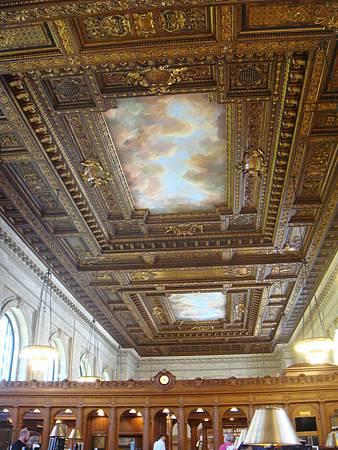 圖書館的天花板
