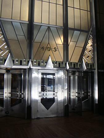 大樓的門口