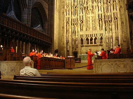 聖湯瑪士教堂的唱詩班
