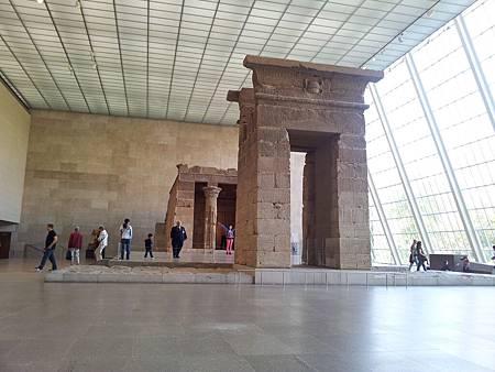位於埃及館的丹德神廟