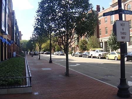 波士頓的街景