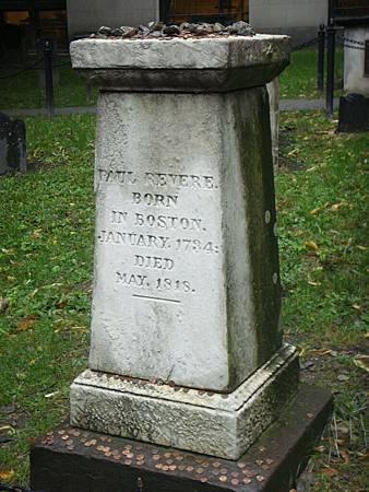 Paul Revere之墓