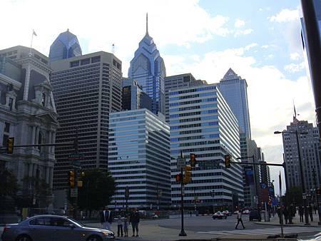 費城的街景