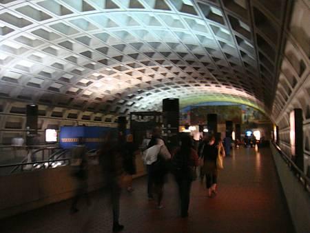 DC的地鐵站