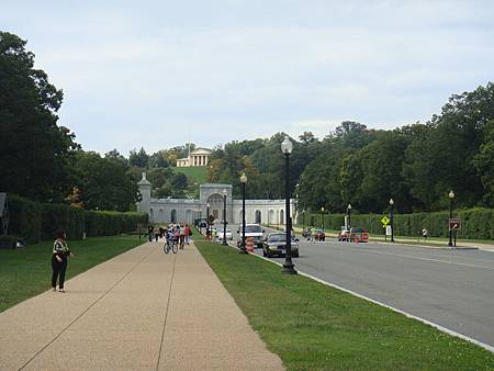 阿靈頓公墓入口