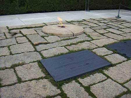 甘迺迪總統墓碑