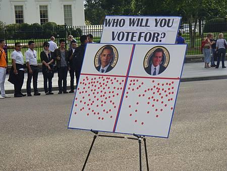 街頭的選戰民調