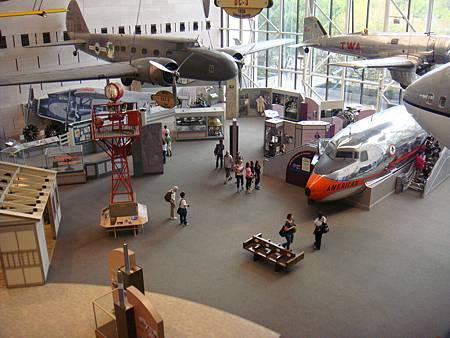 航太博物館大廳