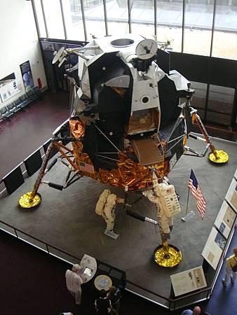 登陸月球的阿波羅號