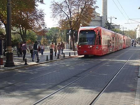 伊斯坦堡的路面電車