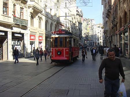 獨立大道的復古電車